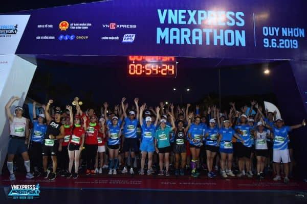 Giải chạy VnExpress Marathon Hanoi Midnight 2020
