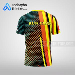 Mẫu áo chạy bộ thiết kế Run Night club mặt sau R6