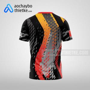 Mẫu áo chạy bộ thiết kế Running EPIC R14 mặt sau