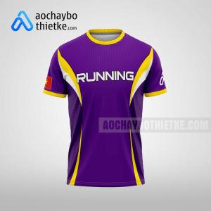 Mẫu áo chạy bộ Bình Định Sunsin R74 mặt trước