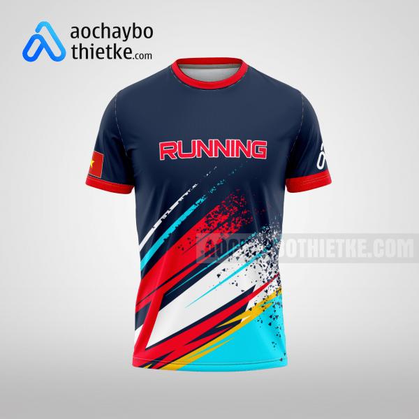 Mẫu áo chạy bộ in theo yêu cầu Hà Nội Runner R105 mặt trước
