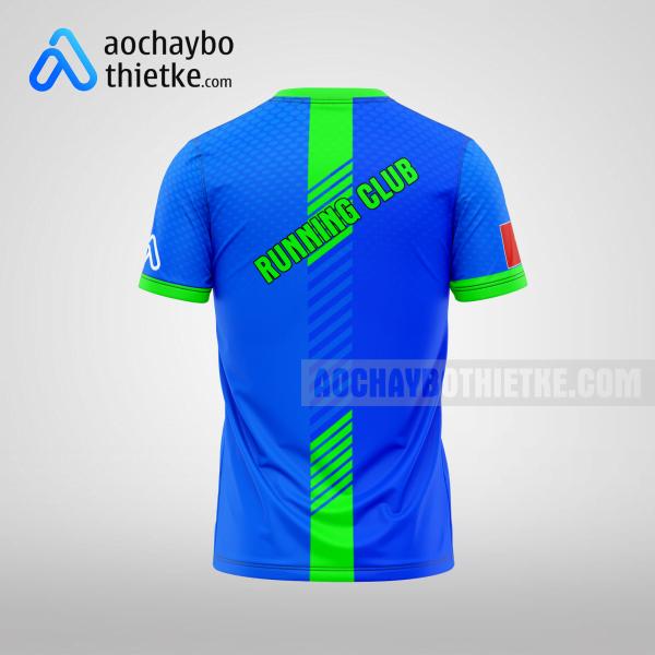 Mẫu áo chạy bộ marathon Đà Nẵng Runner R102 mặt sau