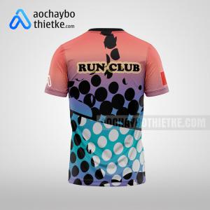 Mẫu áo chạy bộ running thiết kế đẹp Magic R30 mặt sau