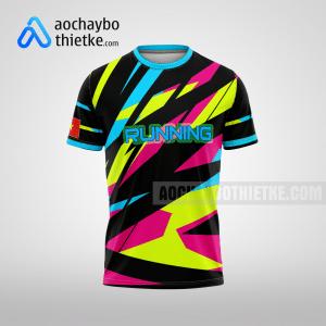 Mẫu áo chạy bộ thiết kế Multicolor R66 mặt trước
