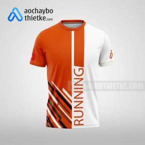 Mẫu áo chạy bộ thiết kế Orange R78 mặt trước