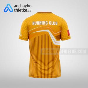 Mẫu áo chạy bộ tự thiết kế Lai Châu Sunline R92 mặt sau