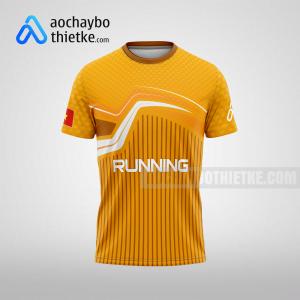 Mẫu áo chạy bộ tự thiết kế Lai Châu Sunline R92 mặt trước