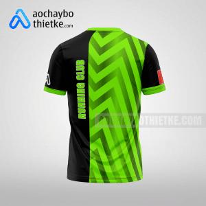 Mẫu áo đồng phục chạy bộ giải Hà Nội Sun R99 mặt sau