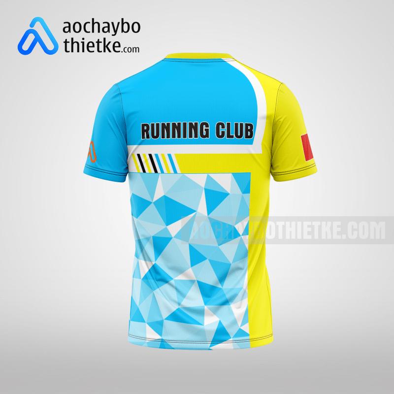 Mẫu đồng phục chạy bộ Quảng Ninh Online R86 mặt sau
