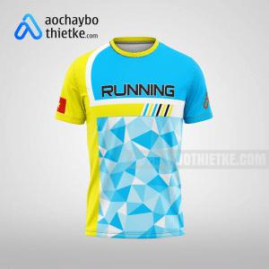 Mẫu đồng phục chạy bộ Quảng Ninh Online R86 mặt trước