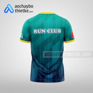 Mẫu may áo chạy bộ theo yêu cầu Sài Gòn Green Speed R75 mặt sau