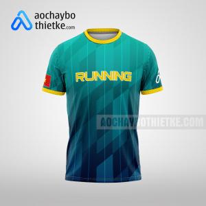 Mẫu may áo chạy bộ theo yêu cầu Sài Gòn Green Speed R75 mặt trước