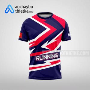 Mẫu quần áo thiết kế chạy giải Runner R58 mặt trước