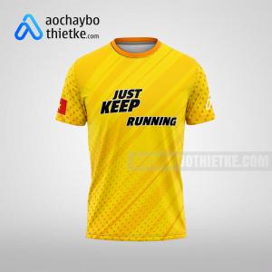 Mẫu áo Hoi An Discovery Marathon 2021 R295 mặt trước