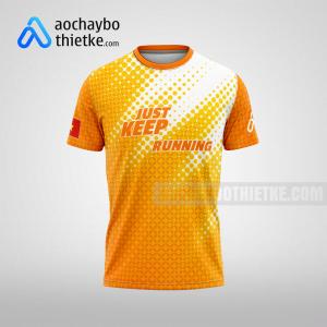 Mẫu áo Techcombank HCMC International Marathon 2021 R288 mặt trước