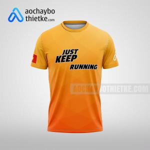 Mẫu áo VnExpress Marathon Quy Nhơn 2021 R299 mặt trước