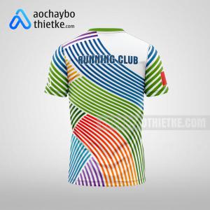 Mẫu áo chạy bộ thiết kế ngân hàng BAOVIETBANK R272 mặt sau