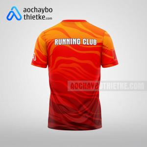 Mẫu áo runner chính hãng R359 thân sau