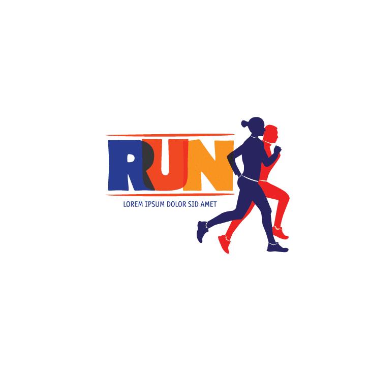 mẫu logo đội, club chạy bộ running, marathon đẹp (1)