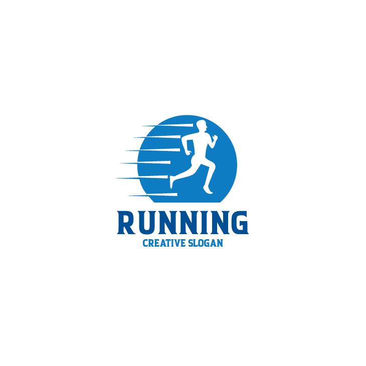 mẫu logo đội, club chạy bộ running, marathon đẹp (17)