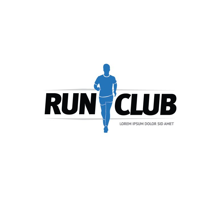 mẫu logo đội, club chạy bộ running, marathon đẹp (2)