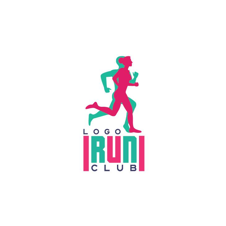 mẫu logo đội, club chạy bộ running, marathon đẹp (22)