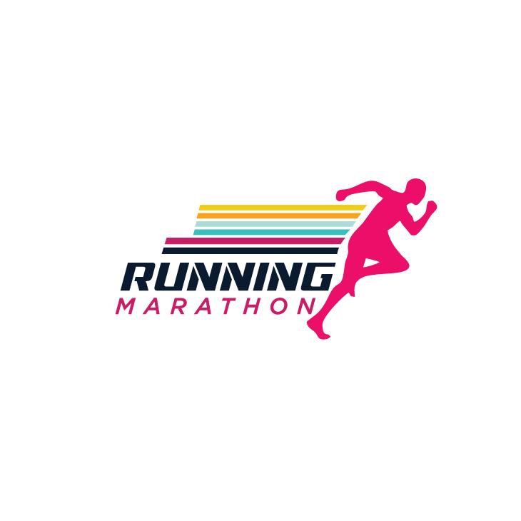 mẫu logo đội, club chạy bộ running, marathon đẹp (23)