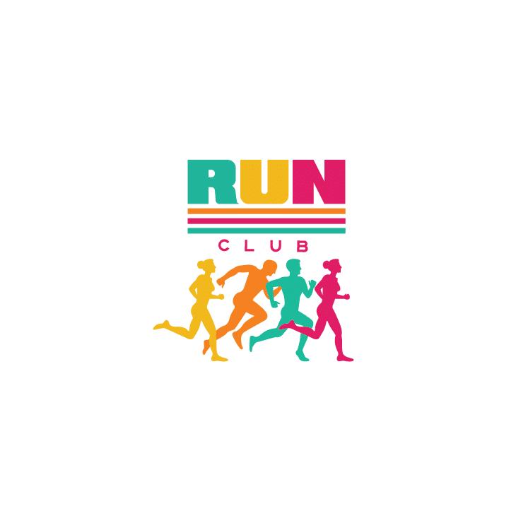 mẫu logo đội, club chạy bộ running, marathon đẹp (28)