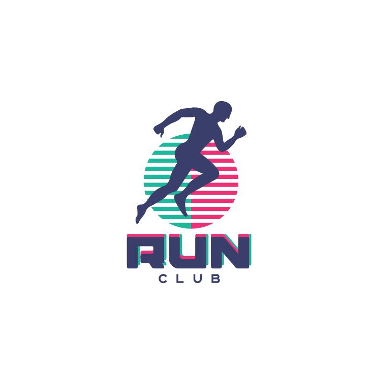 mẫu logo đội, club chạy bộ running, marathon đẹp (29)