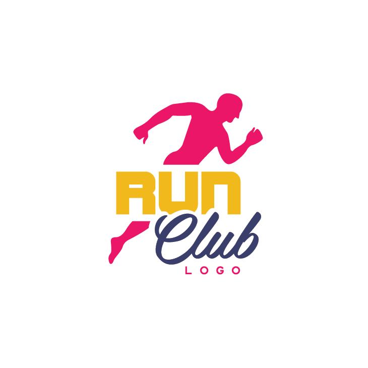 mẫu logo đội, club chạy bộ running, marathon đẹp (31)