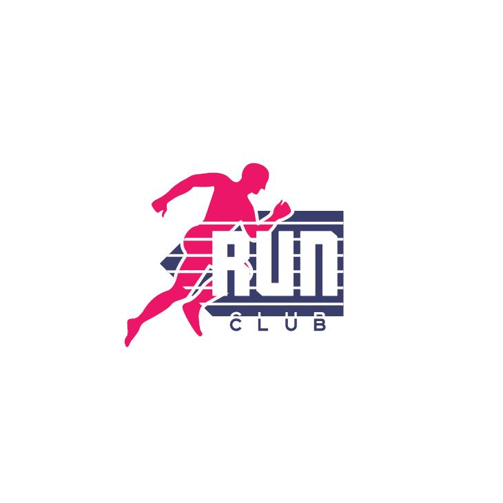 mẫu logo đội, club chạy bộ running, marathon đẹp (35)