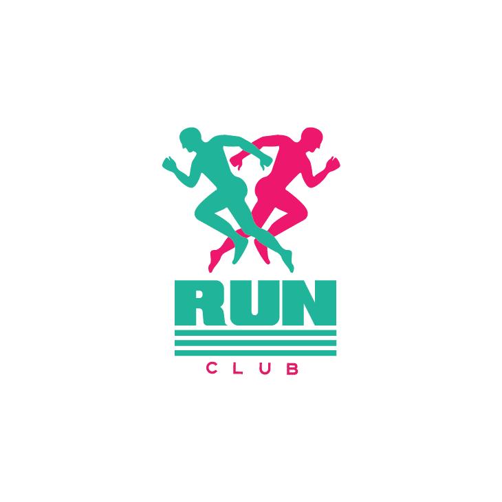 mẫu logo đội, club chạy bộ running, marathon đẹp (38)