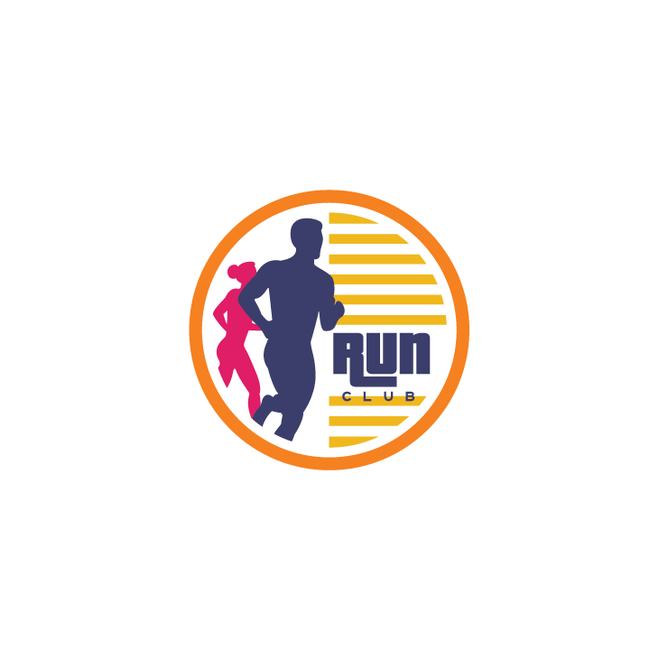 mẫu logo đội, club chạy bộ running, marathon đẹp (40)