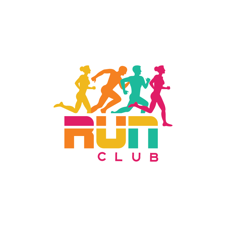 mẫu logo đội, club chạy bộ running, marathon đẹp (41)