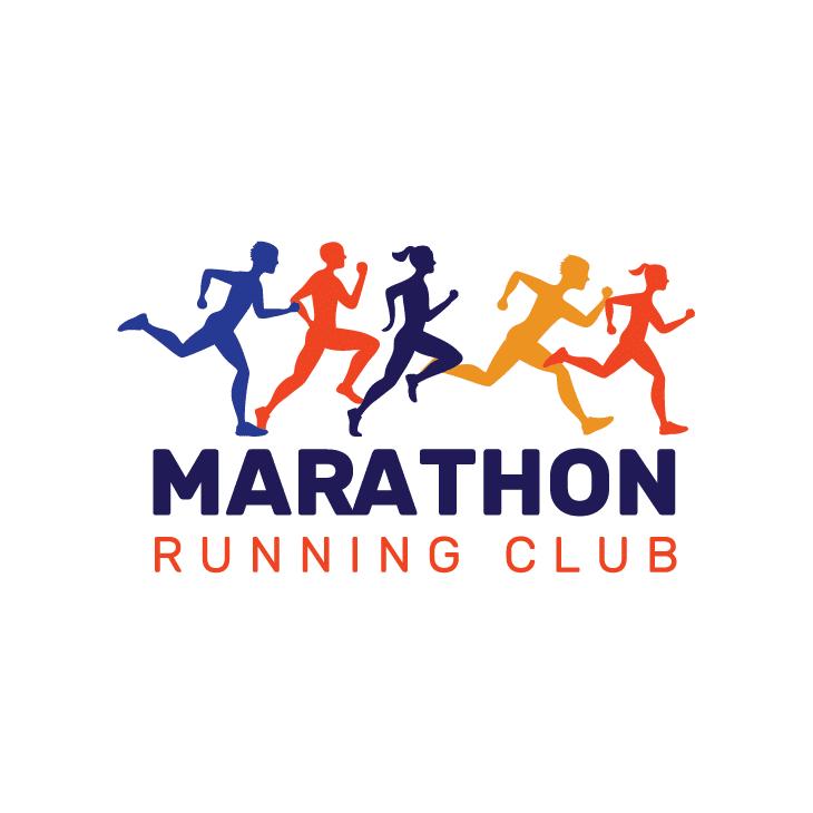 mẫu logo đội, club chạy bộ running, marathon đẹp (54)