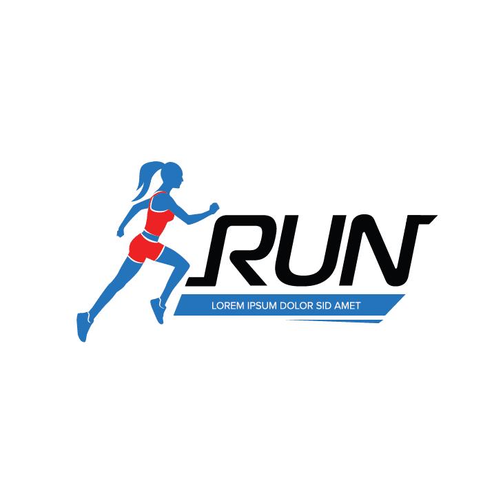 mẫu logo đội, club chạy bộ running, marathon đẹp (7)