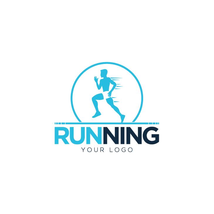 mẫu logo đội, club chạy bộ running, marathon đẹp (70)