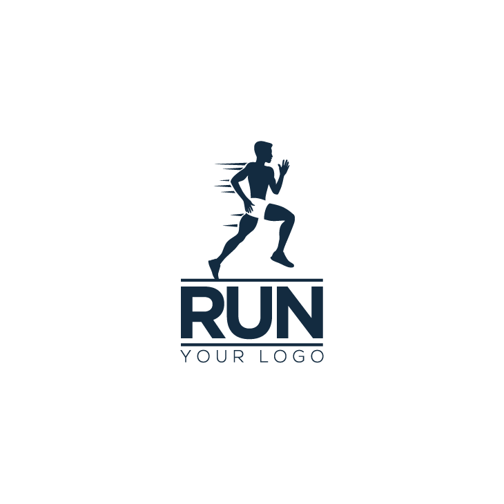 mẫu logo đội, club chạy bộ running, marathon đẹp (80)