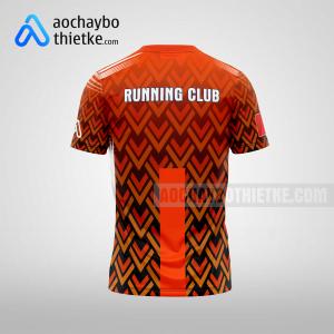 Mẫu áo runner chính hãng giá rẻ tại bến tre R366 thân sau