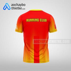 Mẫu áo runner chính hãng giá rẻ tại đà nẵng R401 thân sau