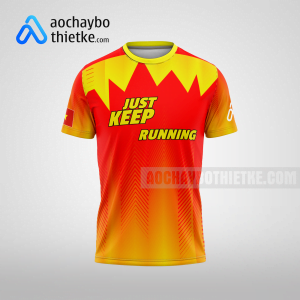 Mẫu áo runner chính hãng giá rẻ tại đà nẵng R401 thân trước