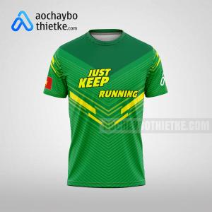 Mẫu áo runner chính hãng giá rẻ tại hưng yên R382 thân trước