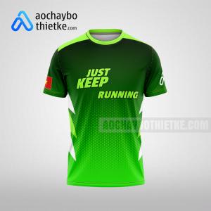 Mẫu áo runner chính hãng giá rẻ tại quảng bình R395 thân trước