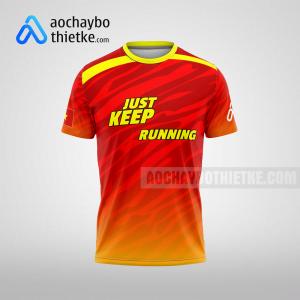 Mẫu áo runner chính hãng giá rẻ tại thái bình R399 thân trước